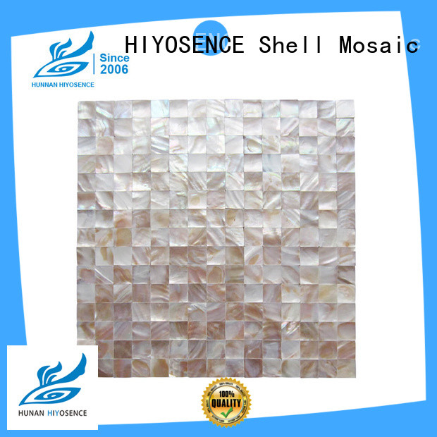 stable quality pearl glass mosaic tile with good price for hotel