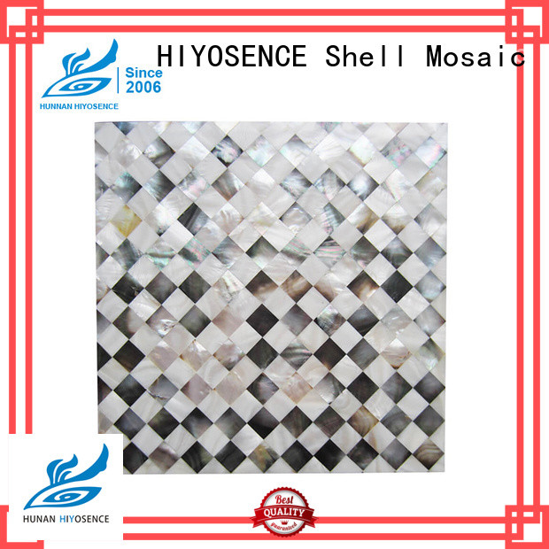 mother of pearl mini brick tile