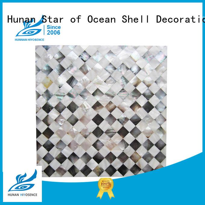 HIYOSENCE stable quality shell tile backsplash overseas market for decoration