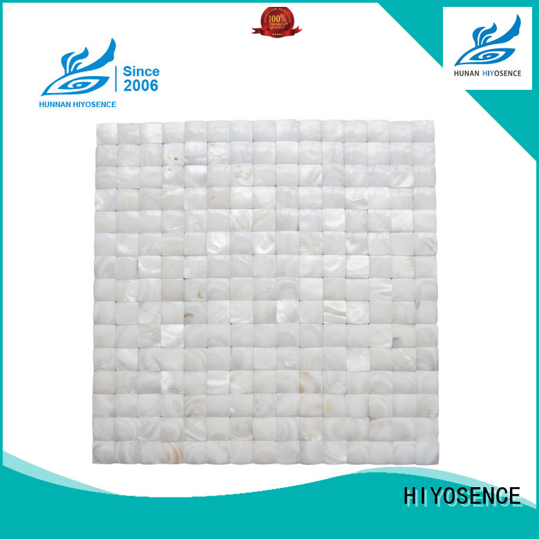 high quality pearl glass mosaic tile with good price for swimming pool