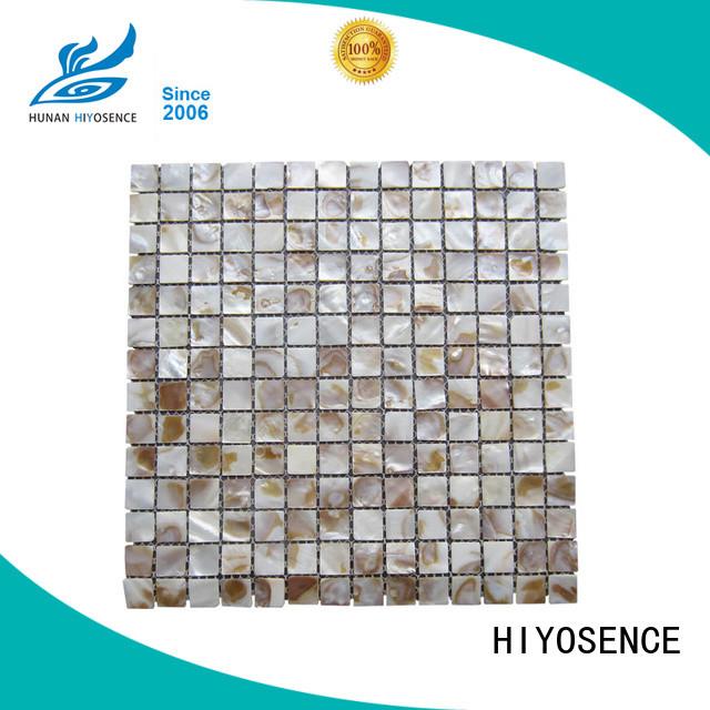 luxury seashell mosaic marketing for swimming pool