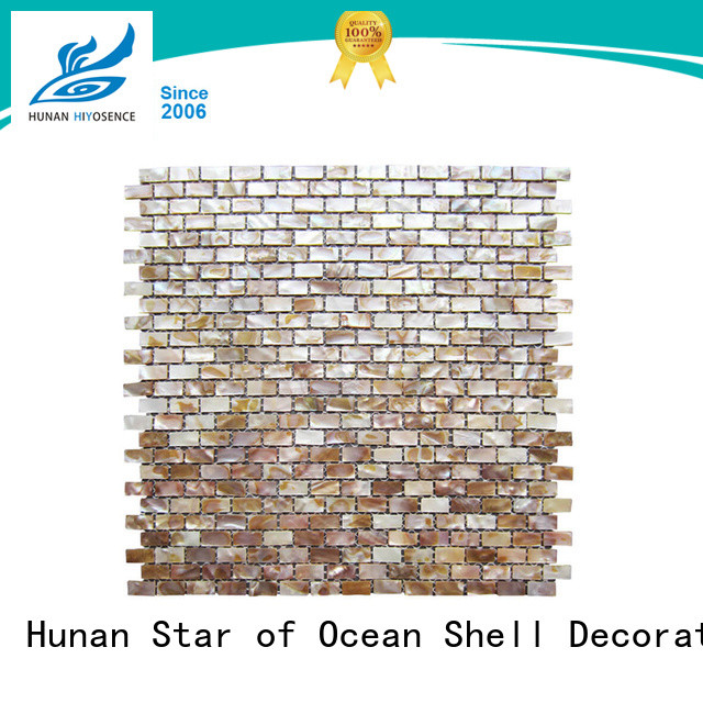 seashell mosaic with good price for hotel HIYOSENCE