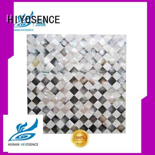 widely used shell tile backsplash supplier for living room