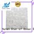 HIYOSENCE advanced technology white pearl shell tile factory price for toilet