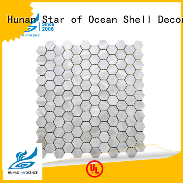 HIYOSENCE marble mosaic tile with good price for decoration